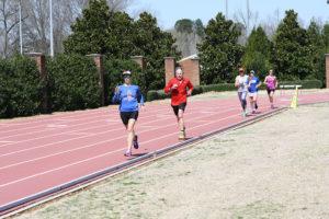 TriMarni training camp at Furman track