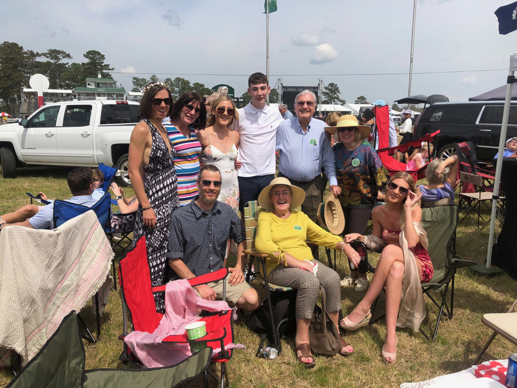 Martins, Schultz, Boylan, Beatties at the Carolina Cup