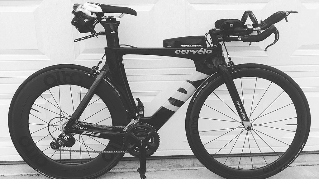 Cervelo P2 with Alto wheels