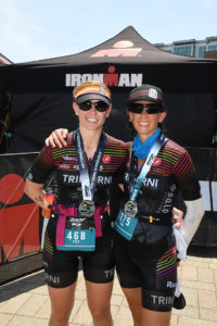 Erin Jensen and Fiona G Martin at Chattanooga 70.3