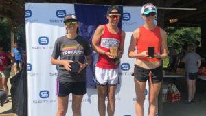 3rd place Lake Murray Triathlon Fiona Martin