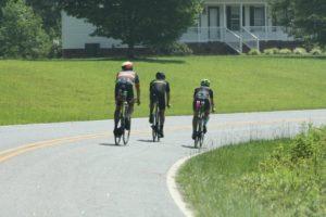 Riding bikes in Greenville, SC