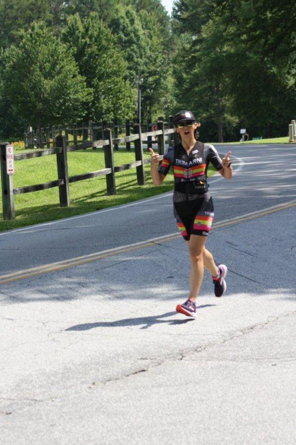 Fiona G Martin running