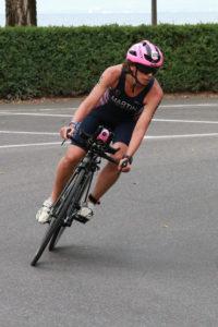 Fiona Martin ITU Worlds bike
