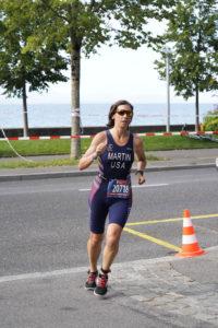 Fiona Martin run course ITU Worlds
