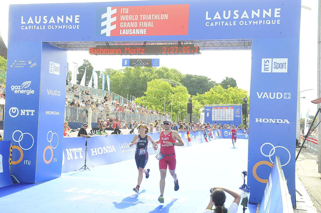 Fiona Martin ITU Worlds finish