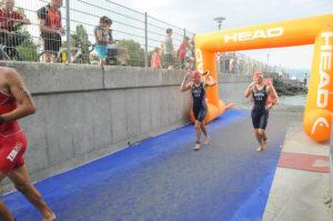 Fiona Martin swim exit ITU Worlds