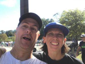 Carlton Sink and Fiona Martin The Dam Tri